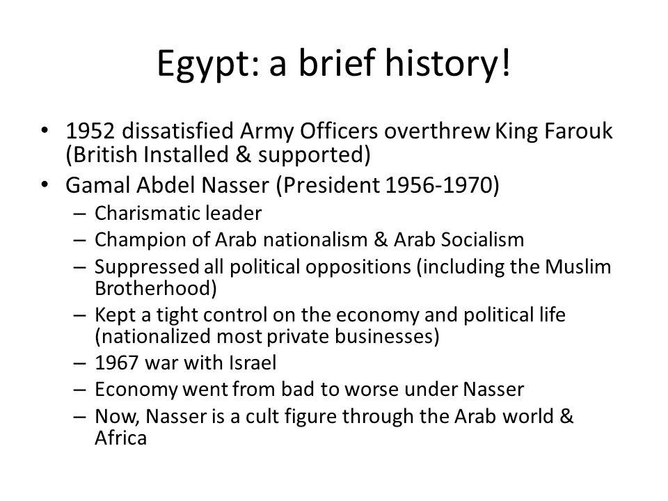 Egypt: a brief history.