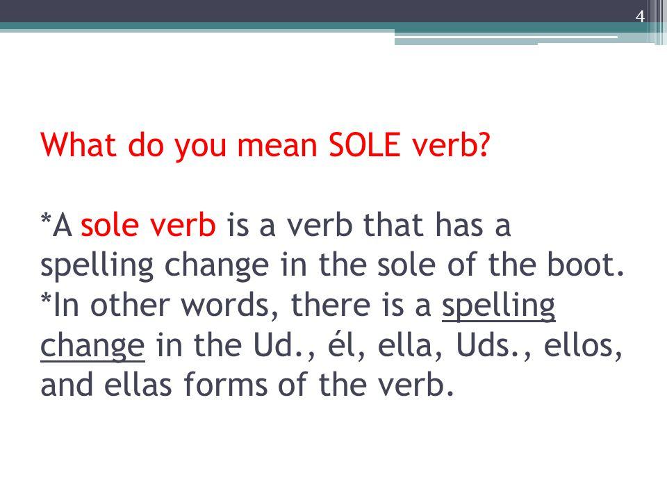How do the verbs change? E  I O  U 5 Ejemplos: dormir, servir
