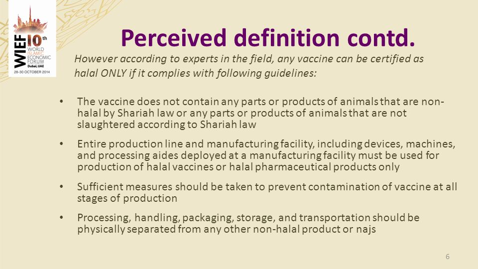Sources: Smart Pharma Consulting analyses 27 The two countries (Turkey & Saudi Arabia) showing the highest pharmaceutical expenditures count for almost half of the selected halal vaccines market in 2030 Market sales potential by 2030 Halal vaccines market in the top 20 Muslim countries – 2020 / 2030 High pharmaceutical expenditures Middle pharmaceutical expenditures Low pharmaceutical expenditures USD 1 144 m USD 96 M Market in USD m