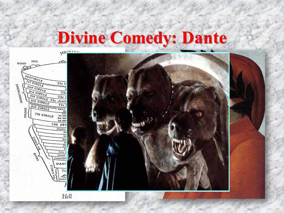 Divine Comedy: Dante