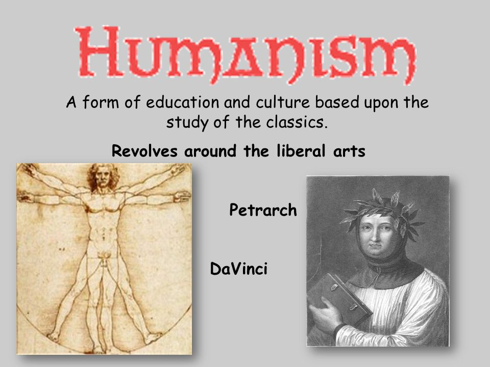 A form of education and culture based upon the study of the classics.