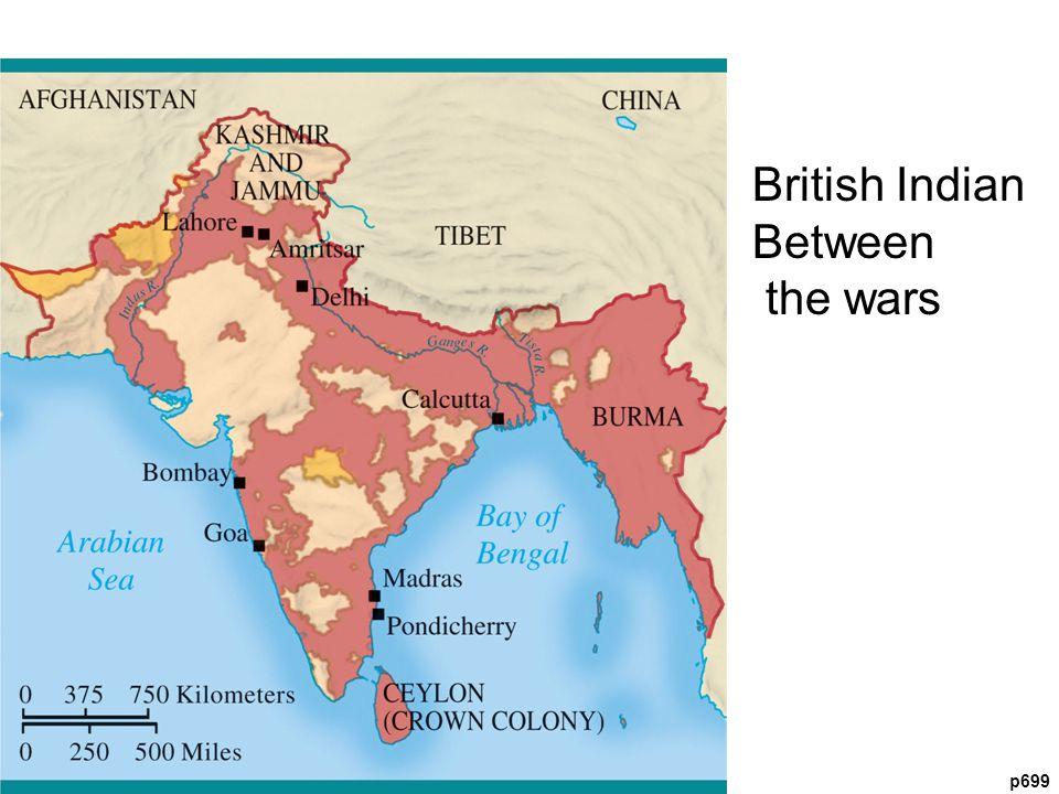p699 British Indian Between the wars