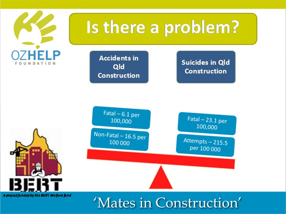 'Mates in Construction' Constructing a Healthy Industry in Queensland