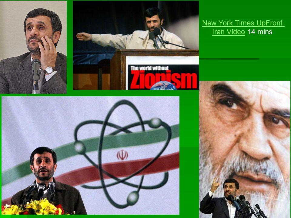 New York Times UpFront Iran VideoIran Video 14 mins