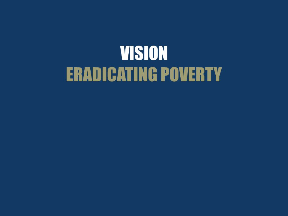 VISION ERADICATING POVERTY