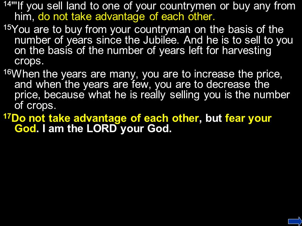 23 The land must not be sold permanently, because the land is mine and you are but aliens and my tenants.