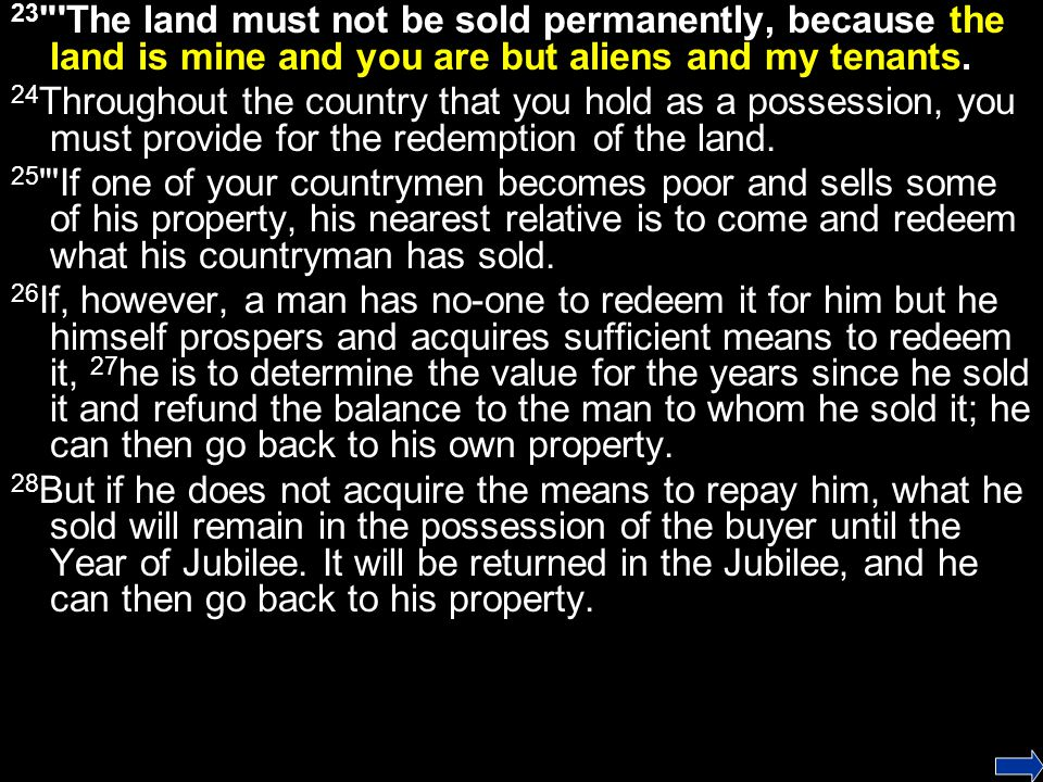 29 If a man sells a house in a walled city, he retains the right of redemption a full year after its sale.