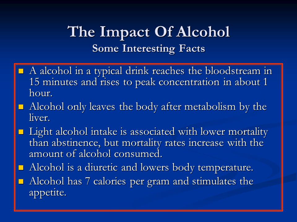 The Effects of Alcohol Abuse On The Body