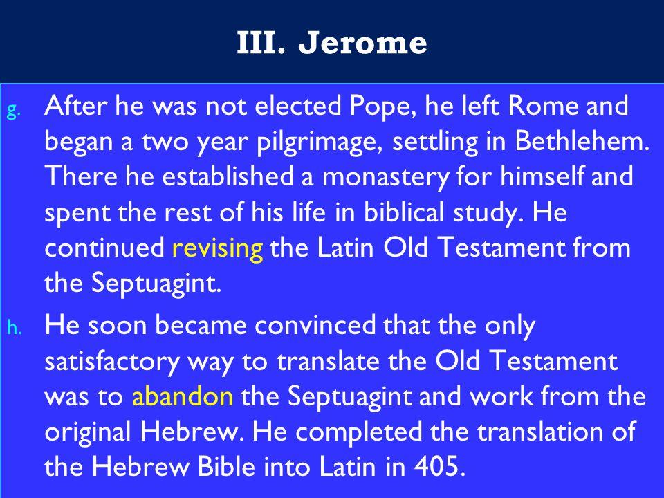 15 III. Jerome g.