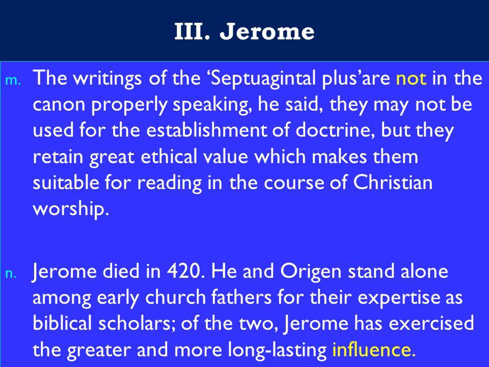 18 III. Jerome m.