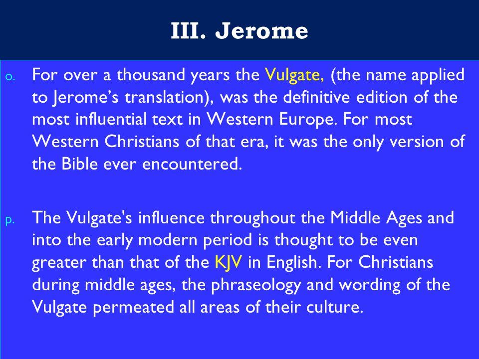 19 III. Jerome o.