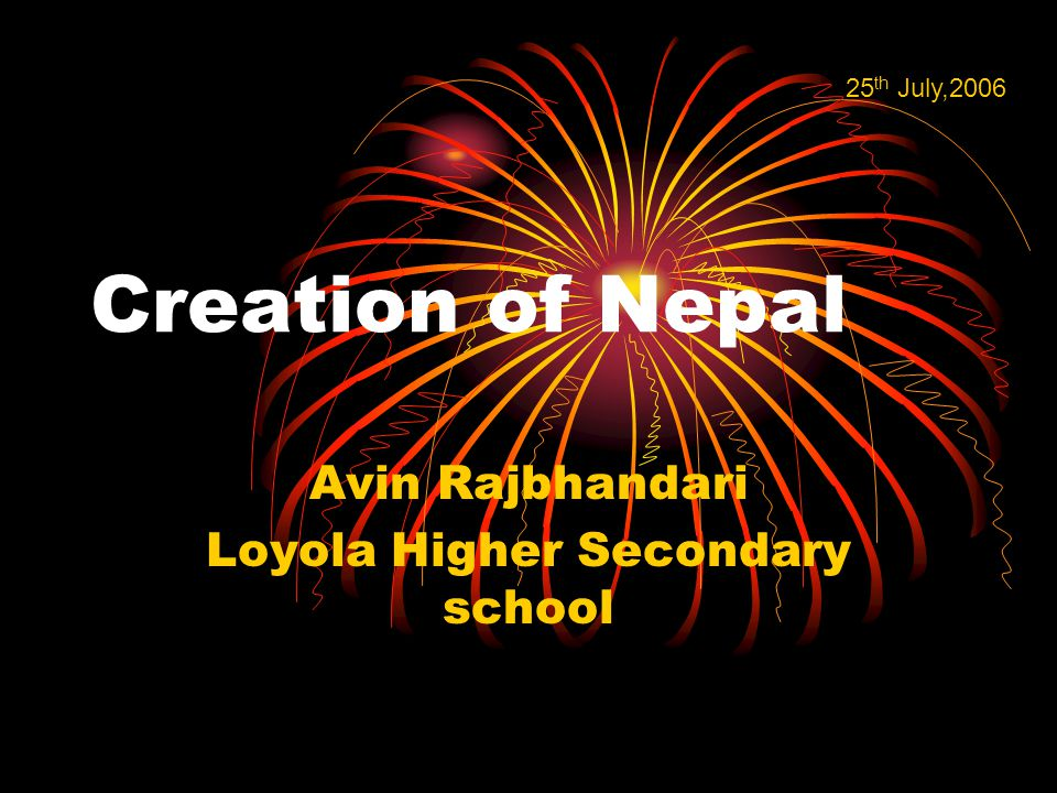 MY VIEW OF NEPAL IN NEAR FUTURE GOOD LITERACY RATE GOOD EMPLOYMENT RATE BALANCED POPULATION ADVANCEMENT IN TECHNOLOGY
