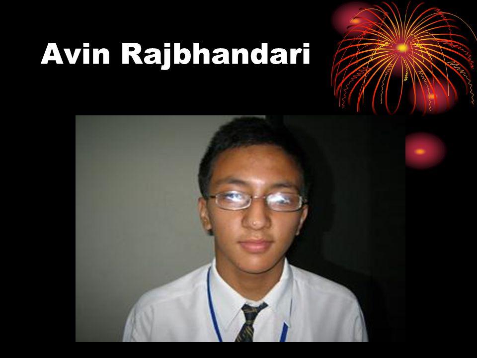 Avin Rajbhandari