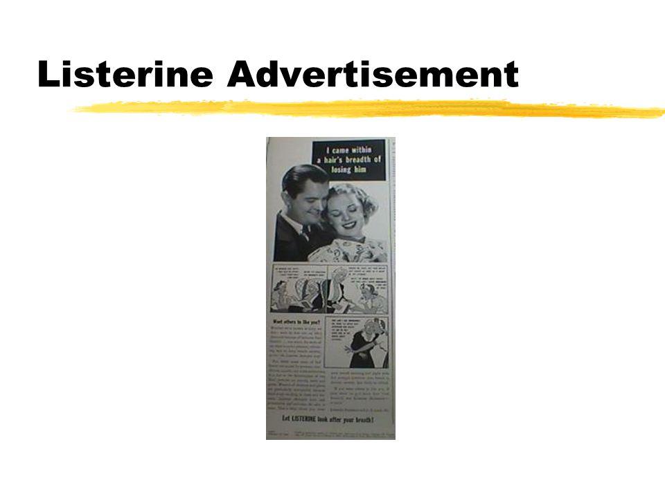 Listerine Advertisement