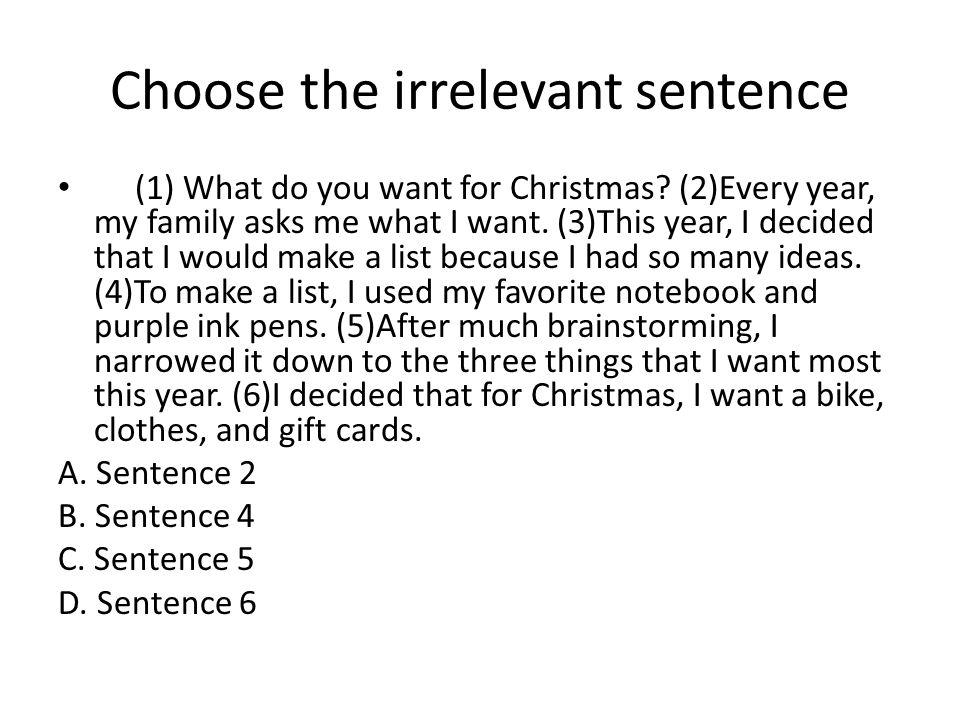 B. Sentence 4