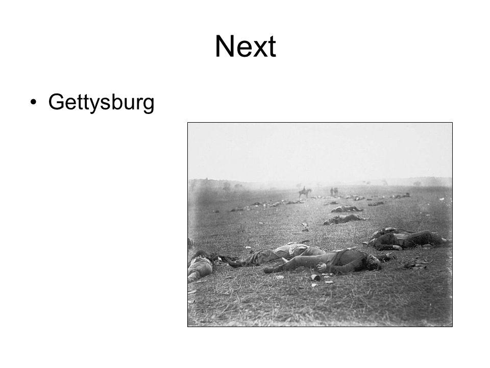 Next Gettysburg