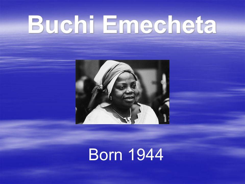 Buchi Emecheta Born 1944