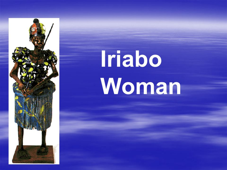 Iriabo Woman