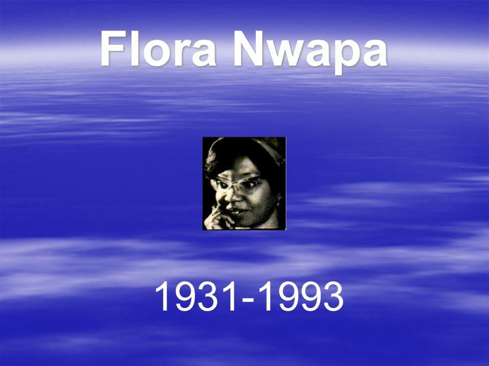 Flora Nwapa 1931-1993