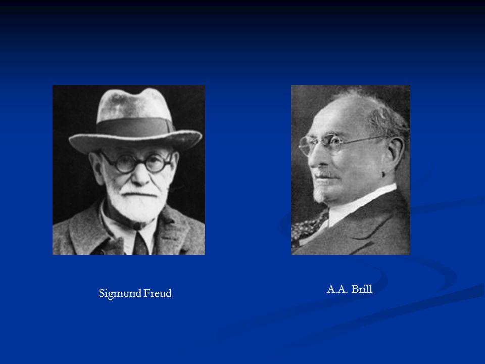 Sigmund Freud A.A. Brill