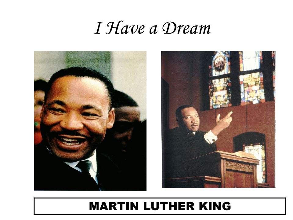 an analysis of i have a dream speech by dr martin luther king