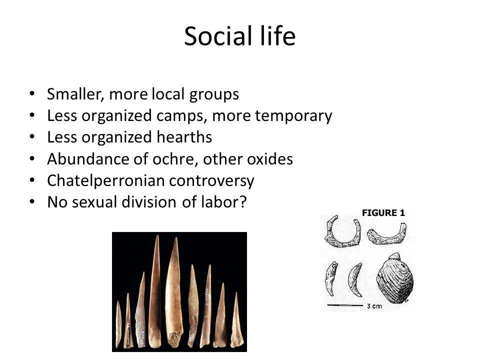 Emergence of Homo sapiens First anatomically modern humans (behaviorally?) Omo Kibish Ethiopia 190,000 Herto 160,000 ybp (defleshing) Homo sapiens more derived than Neanderthals.
