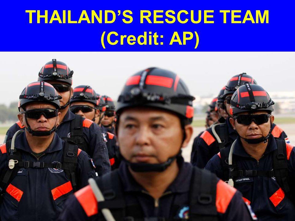 THAILAND'S RESCUE TEAM (Credit: AP)