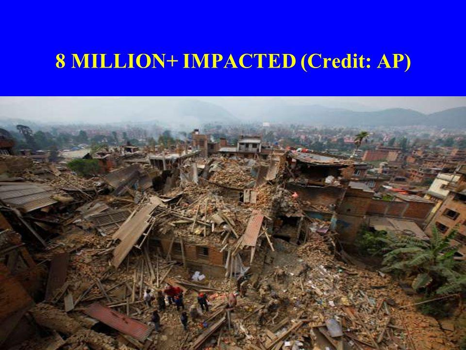 8 MILLION+ IMPACTED (Credit: AP)