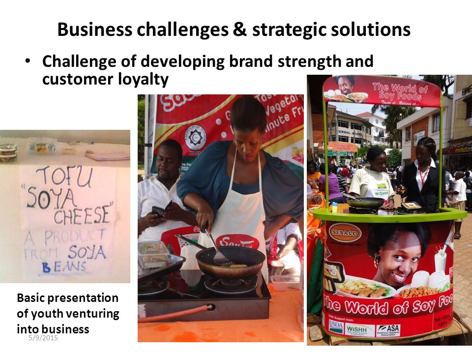 Business challenges & strategic solutions d.