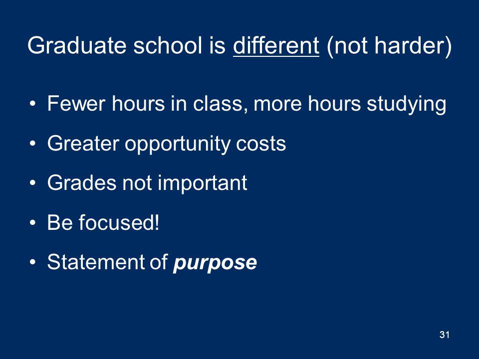 Breadth of undergraduate education & life opportunities Breadth of undergraduate education Life opportunities 30