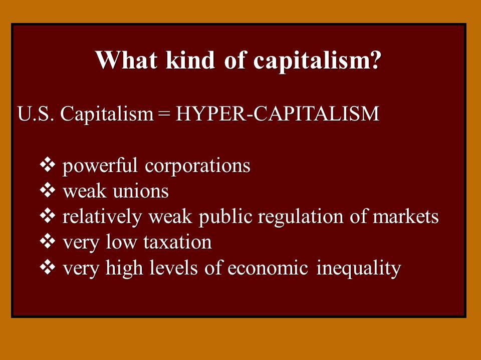 Economic Inequality Key theme Key theme: The US has the highest levels of economic inequality of all developed economies.