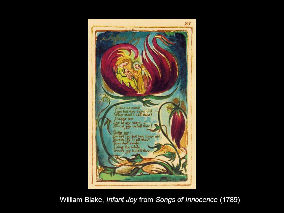 William Blake, Infant Joy from Songs of Innocence (1789)