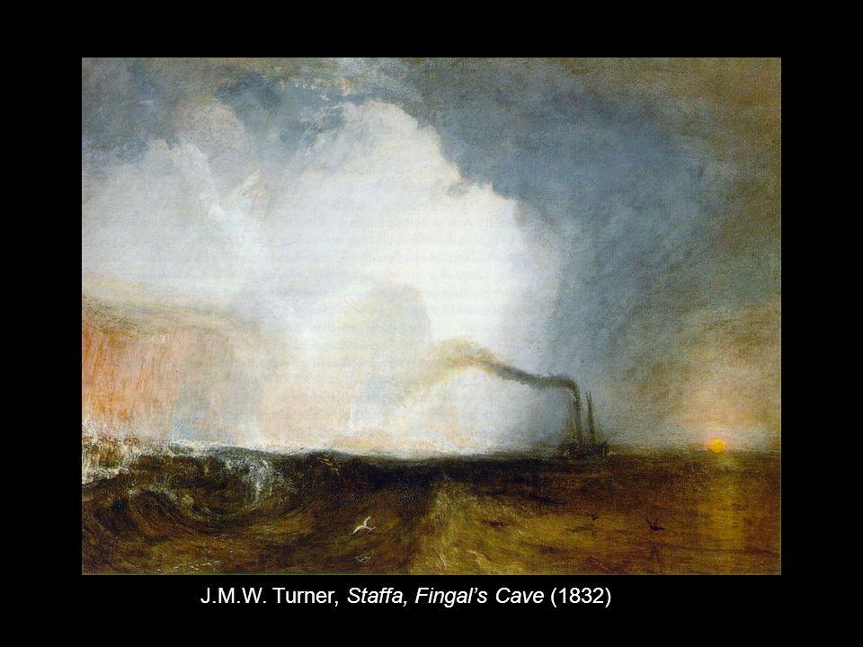 J.M.W. Turner, Staffa, Fingal's Cave (1832)