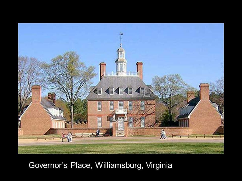 Governor's Place, Williamsburg, Virginia