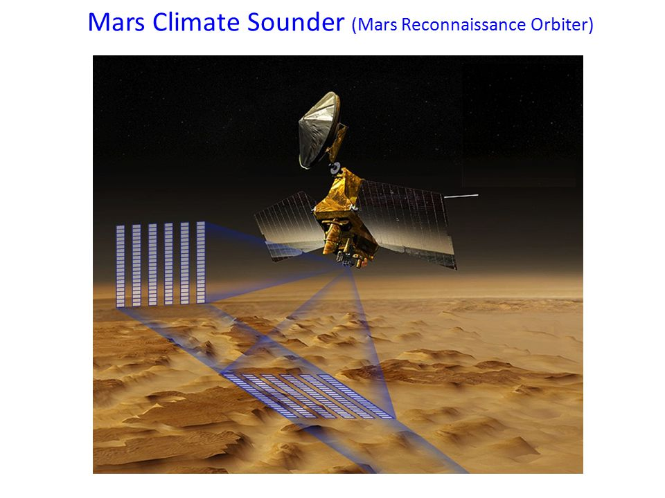 Mars Climate Sounder (Mars Reconnaissance Orbiter)