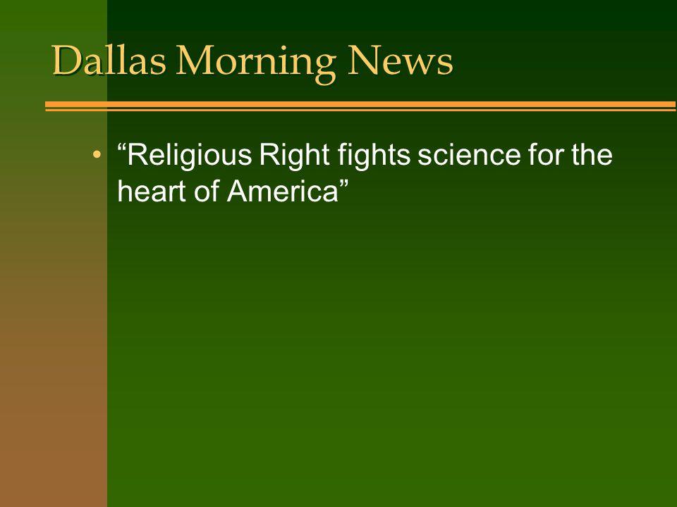 Science Weekly Creationism vs. Sanity