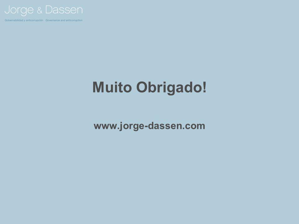 Muito Obrigado! www.jorge-dassen.com