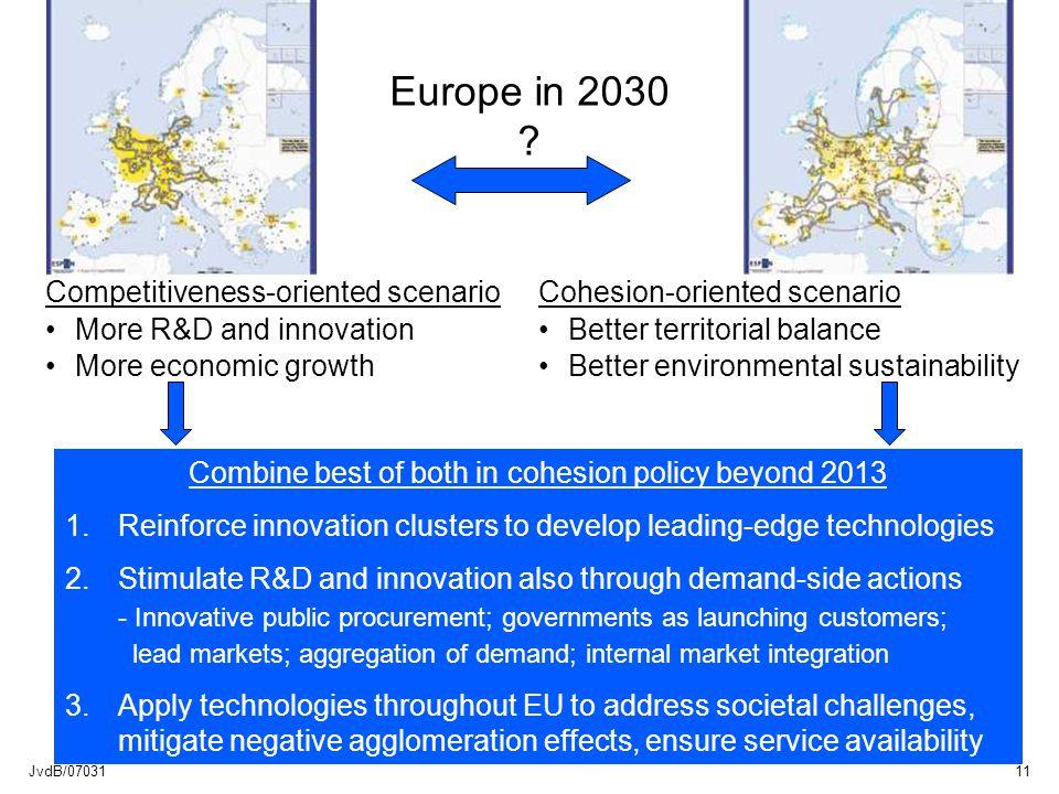 JvdB/0703111 Europe in 2030 .