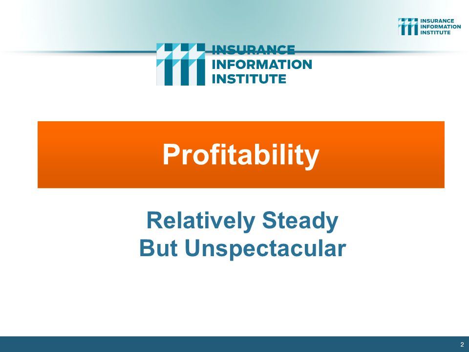 2 Profitability Relatively Steady But Unspectacular