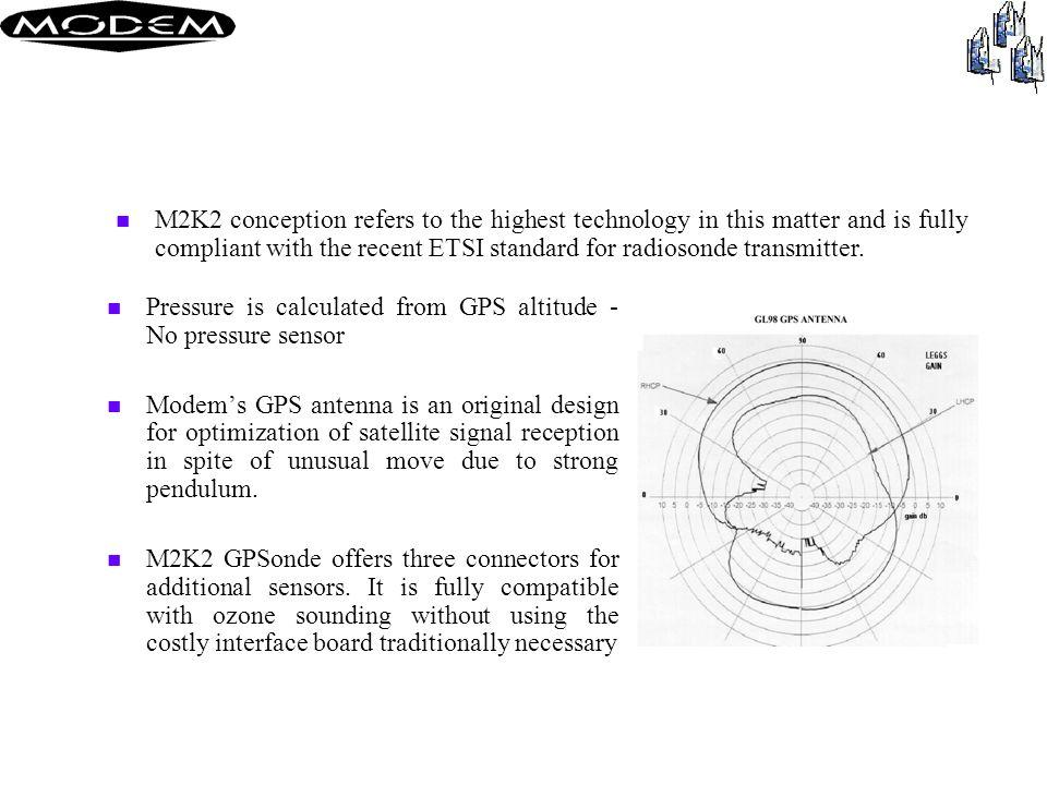 GPSonde M2K2 (WMO Code 56)