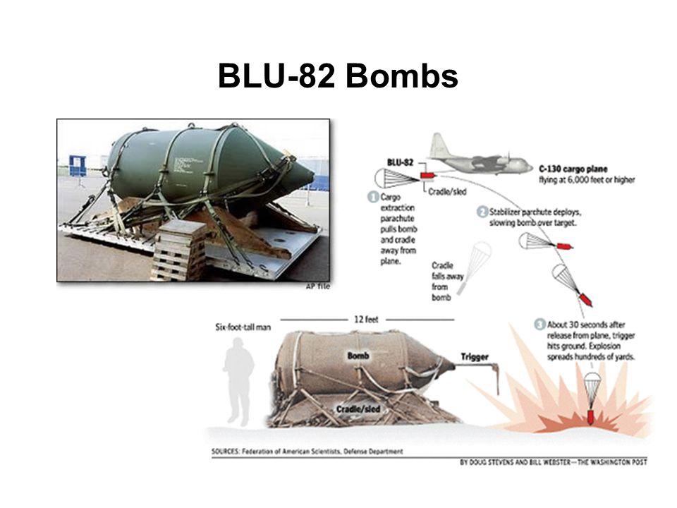 BLU-82 Bombs