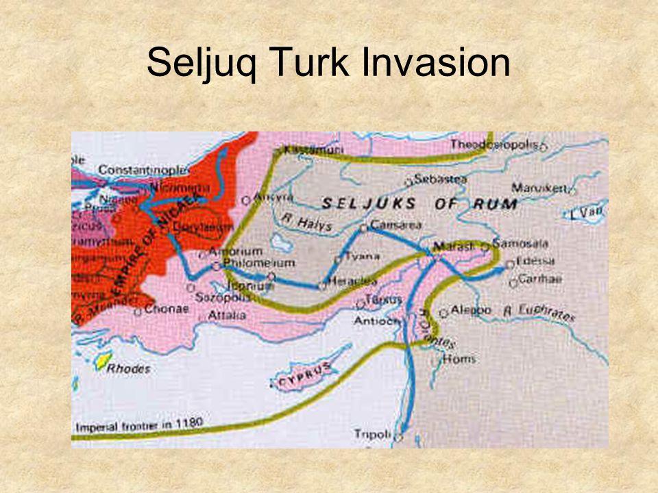 Seljuq Turk Invasion