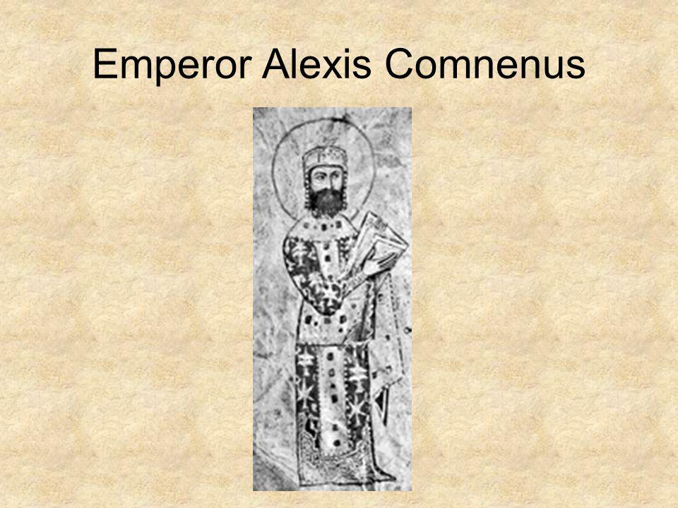 Emperor Alexis Comnenus