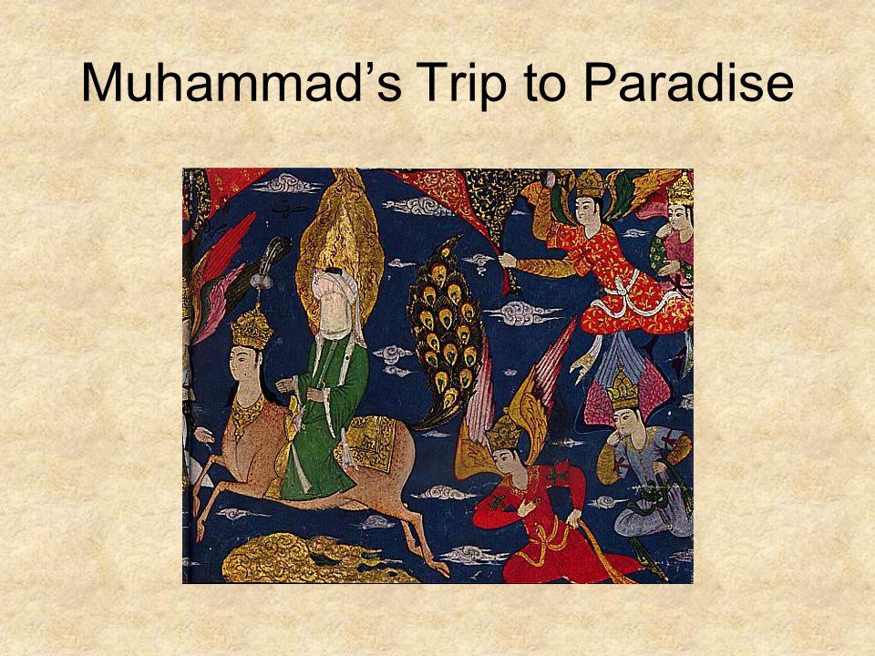 Muhammad's Trip to Paradise