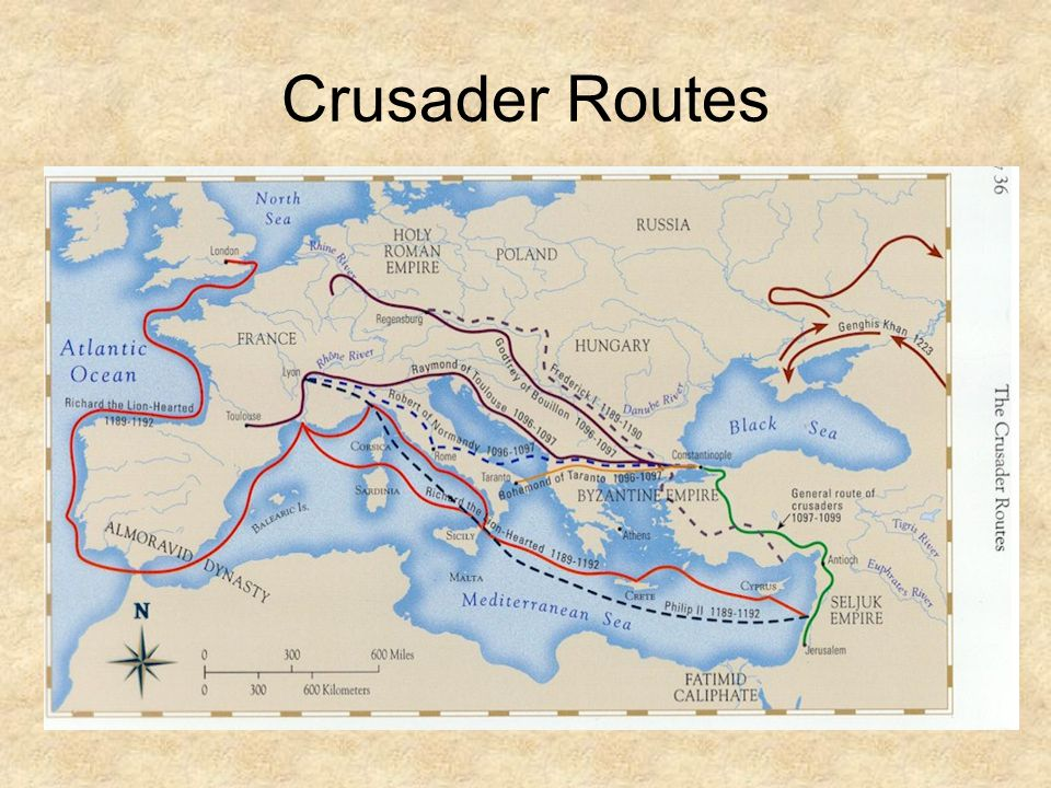 Crusader Routes
