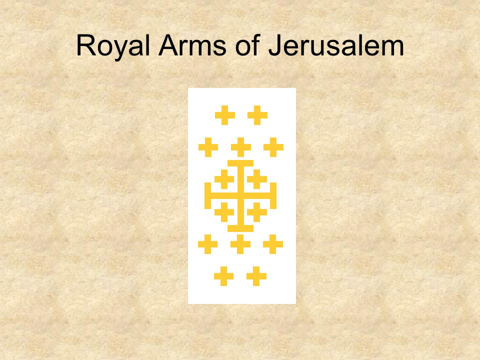 Royal Arms of Jerusalem