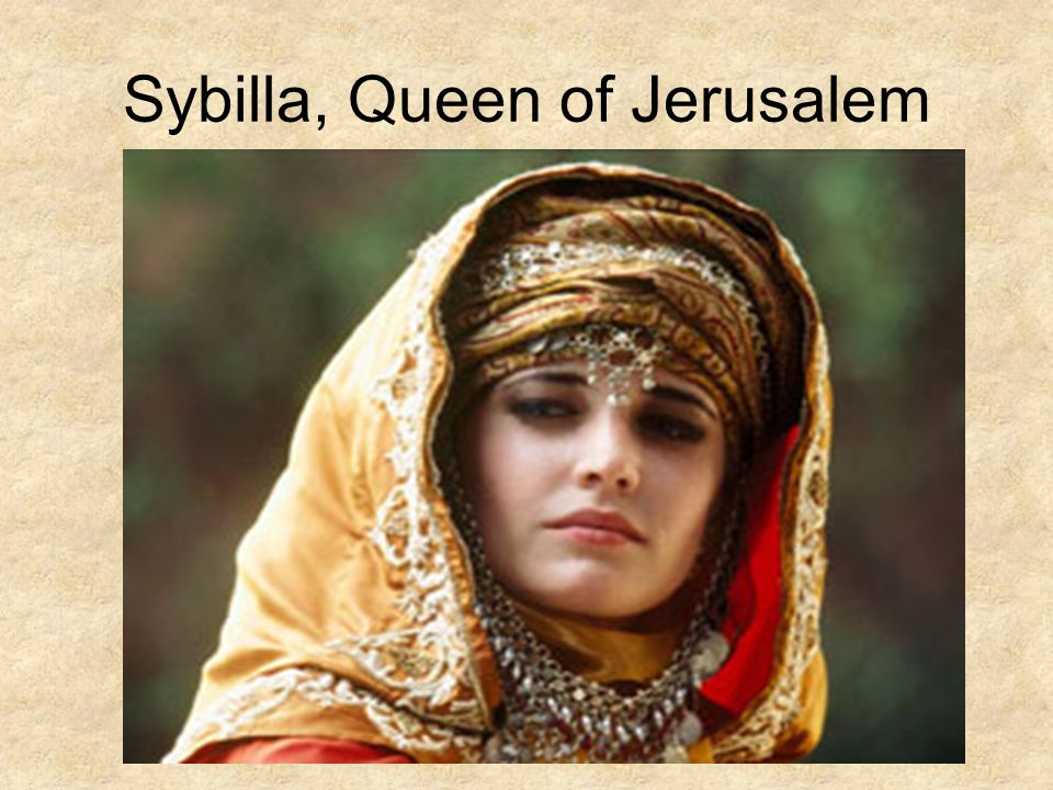 Sybilla, Queen of Jerusalem