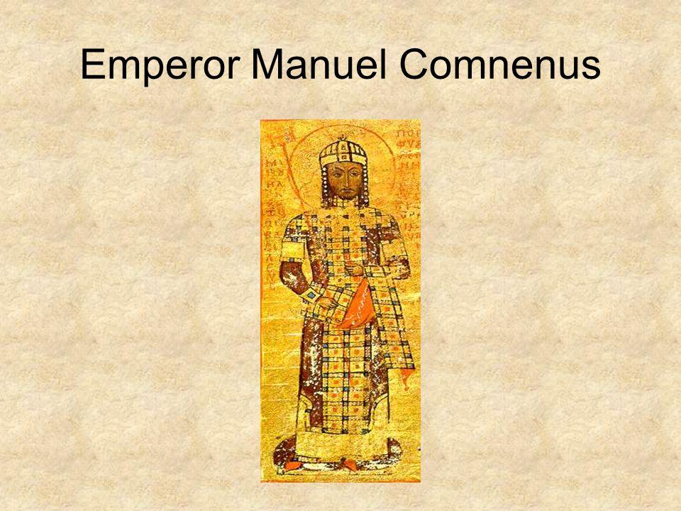 Emperor Manuel Comnenus