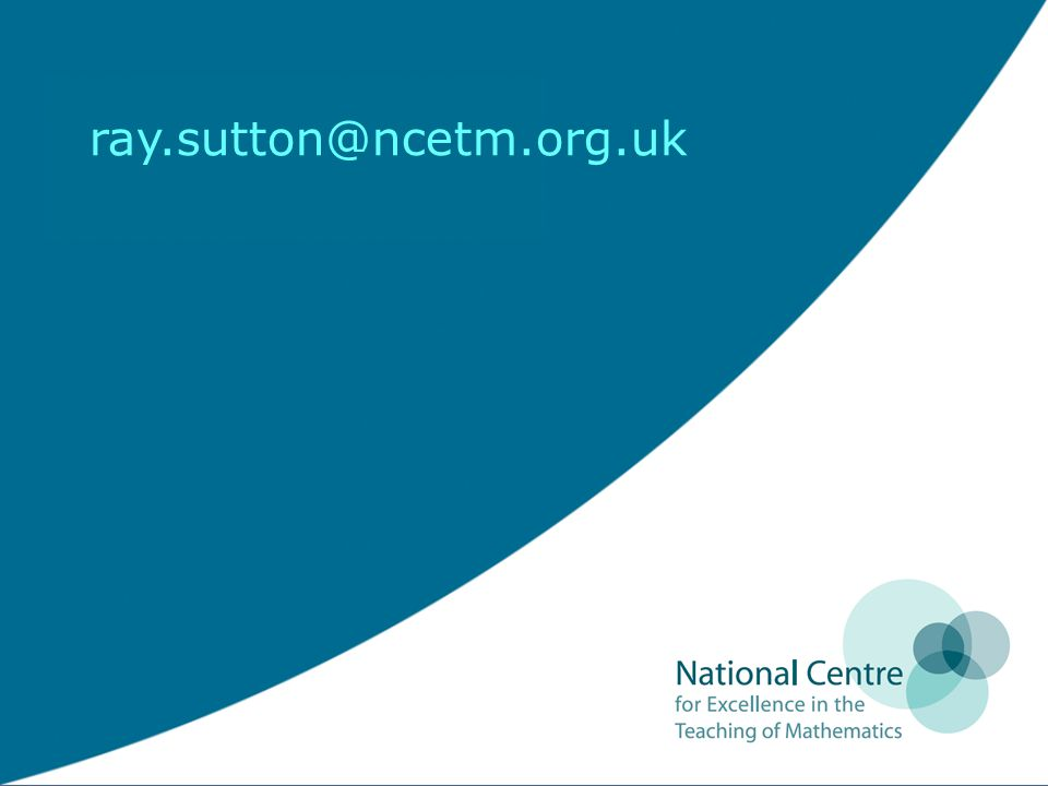 ray.sutton@ncetm.org.uk