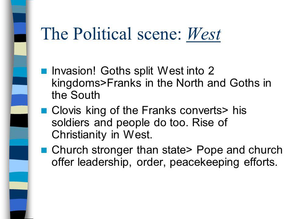 The Political scene: West Invasion.